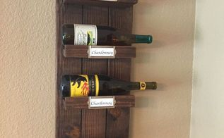 diy wood wine rack, how to, shelving ideas, wall decor, woodworking projects