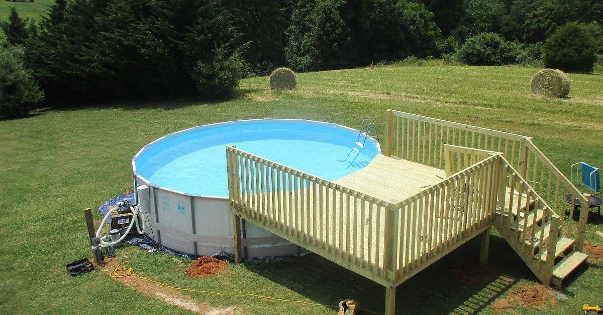 Above Ground Pool Cleaning Service : Above ground pool maintenance hometalk