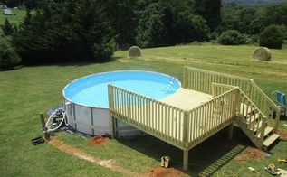 q above ground pool winter maintenance, home maintenance repairs, minor home repair, outdoor furniture, pool designs