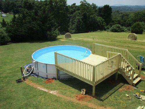 Swimming Pool Repair Questions : Above ground pool maintenance hometalk