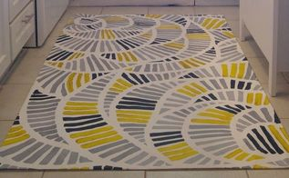 painted kitchen floor cloth, flooring, kitchen design