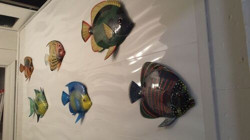 How To Hang Decorative Fish On Porcelain Tile Wall Hometalk