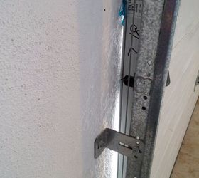 I want to seal the sides of garage door to keep dirt out   Hometalk