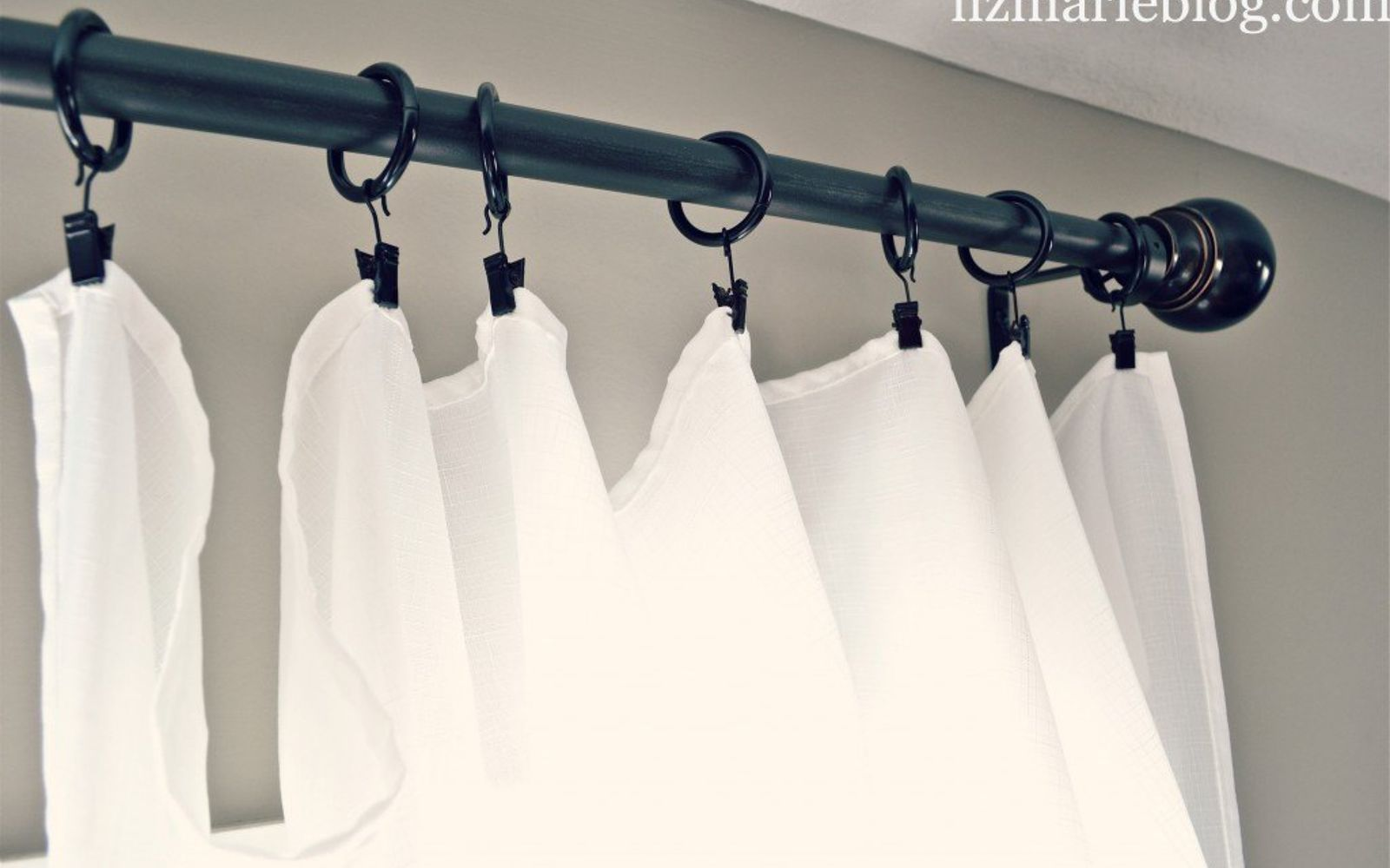 s 9 genius decorating hacks using tablecloths, repurposing upcycling, Turn cheap cloths into chic flowing curtains
