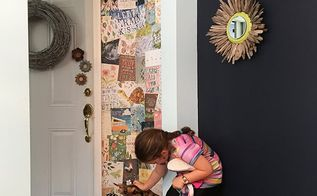 how to make your own wallpaper, how to, repurpose household items, wall decor