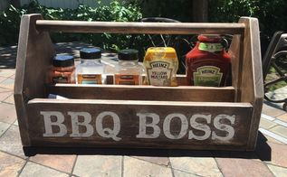 diy wood bbq caddy, crafts, how to, storage ideas, woodworking projects