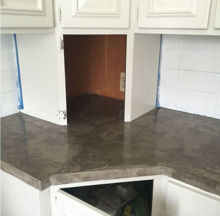 Countertop Materials Formica : ... formica countertop with concrete, concrete masonry, countertops