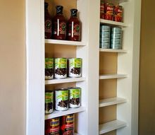 pantry between the studs, diy, kitchen design, organizing, shelving ideas, storage ideas, woodworking projects