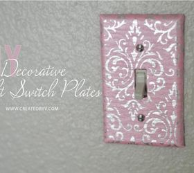 DIY Decorative Switch Plates Outlet Covers Hometalk
