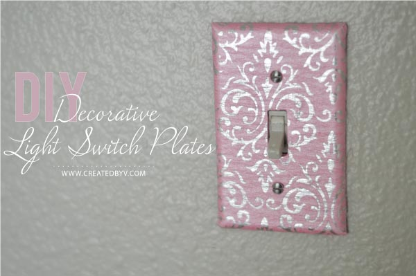 diy decorative switch plates outlet covers crafts decoupage - Decorative Light Switch Covers