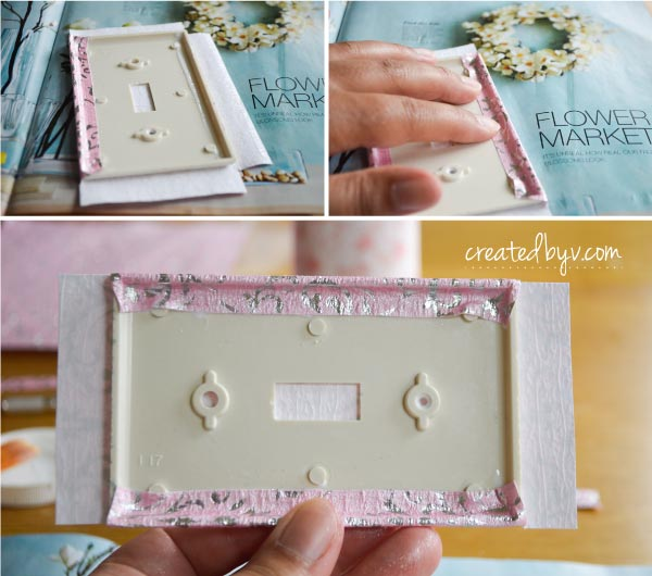diy decorative switch plates outlet covers crafts decoupage - Decorative Outlet Covers