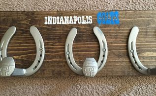 diy horseshoe coat hat rack, crafts, how to, pallet, repurposing upcycling, tools, woodworking projects