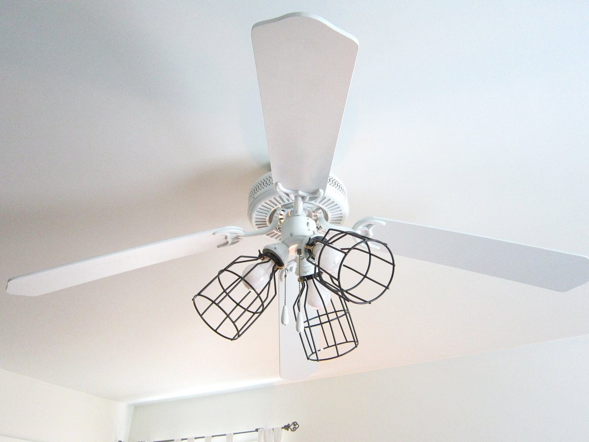 13 Ways To Upgrade Your Boring Ceiling Fan On A Budget