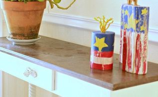how to create a safe firecracker, crafts, how to, patriotic decor ideas, seasonal holiday decor
