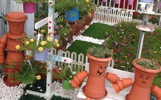 small garden ideas, gardening, repurposing upcycling