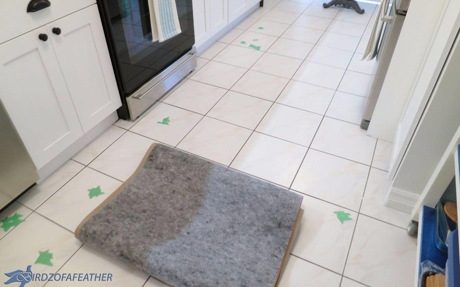 How to fix cracked floor tile