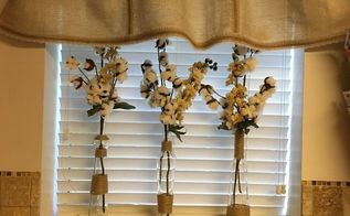 this little valance, crafts, repurpose household items, repurposing upcycling, reupholster, window treatments, windows