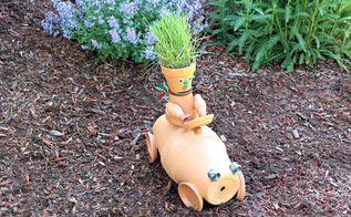race car garden art, crafts, gardening, repurposing upcycling