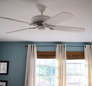 s 13 ways to upgrade your boring ceiling fan on a budget, appliances, wall decor