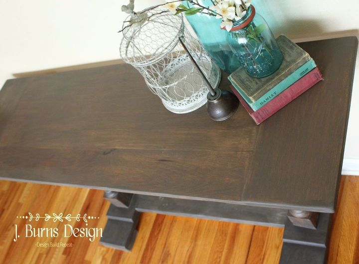 diy creating patina on new wood, how to, painted furniture, painting