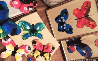 art made easy paper butterflies that almost fly, crafts, painting