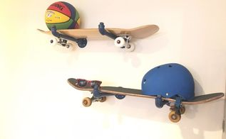 skateboard storage, how to, shelving ideas