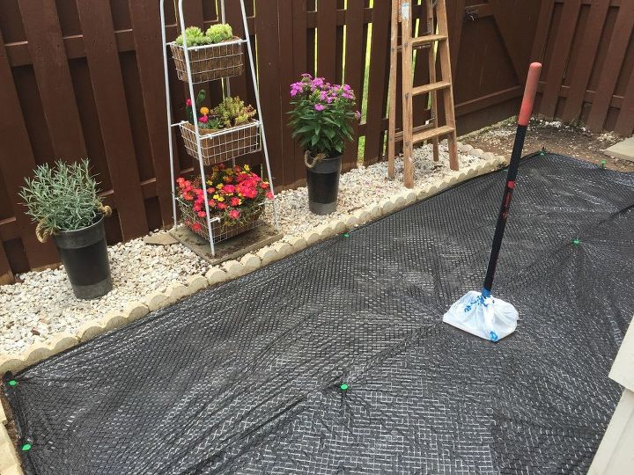 Backyard makeover diy landscaping project hometalk for Diy landscaping