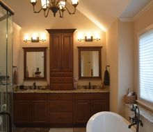 smaller bathroom with large results, bathroom ideas