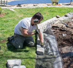 s 15 ways concrete pavers can totally transform your backyard, concrete masonry, curb appeal, outdoor living