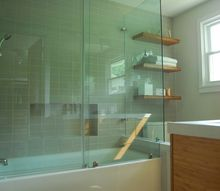 mid century bathroom remodel, bathroom ideas, home improvement, tiling