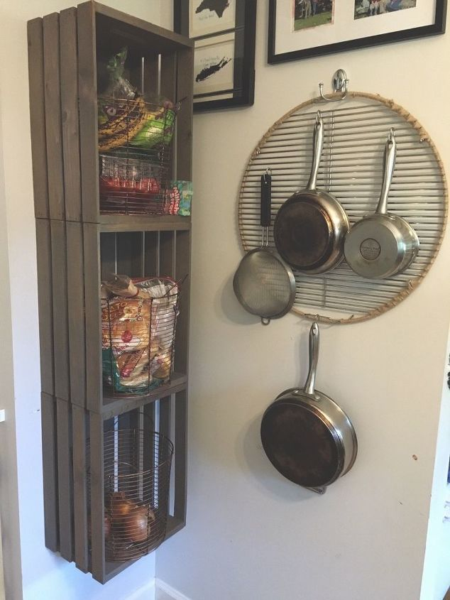 Store Pots And Pans On A Grill Grate Hometalk
