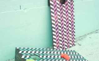 diy cornhole boards, diy, how to, outdoor living