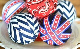 fabric vase filler balls, crafts, how to, reupholster