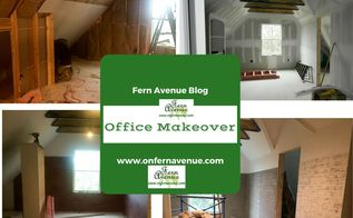 office makeover using modern masters metal effects on the walls, home decor, home office, painted furniture, painting, wall decor