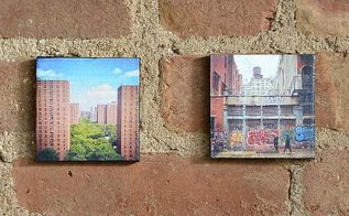 canvas mounted instagram photos, crafts, decoupage, wall decor