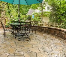 backyard landscaping and patio reveal, landscape, outdoor living, patio