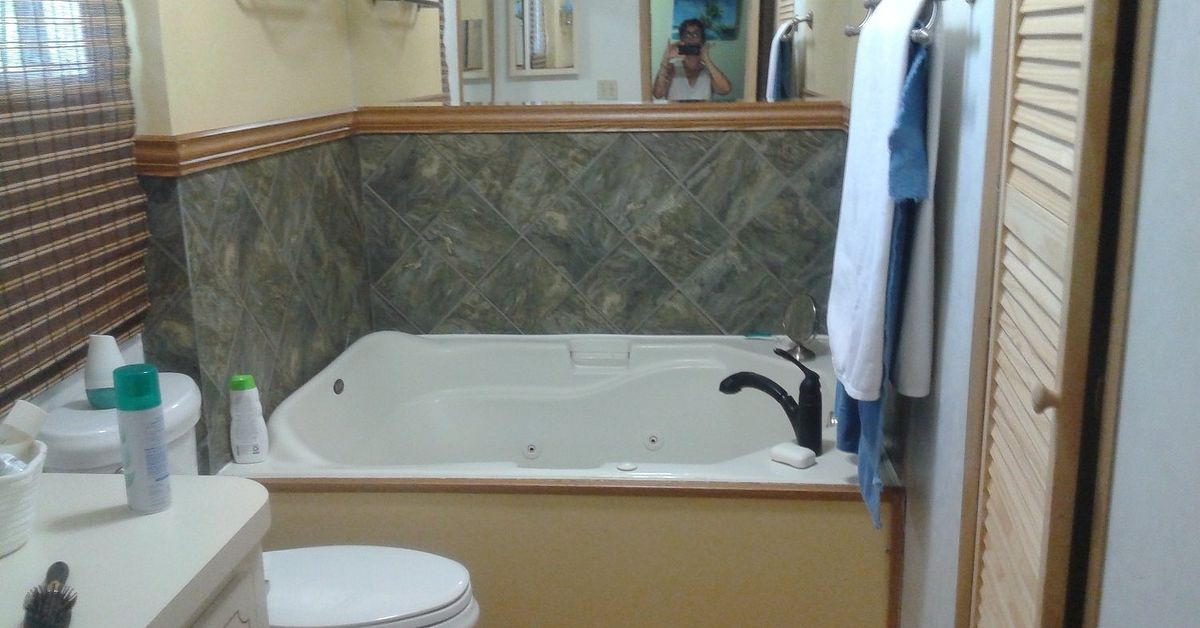 Garden Tub Ideas find this pin and more on bathroom remodel What Can I Do With This Ugly Garden Tub Hometalk