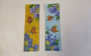 re purposed new handkerchief cloth bookmarks, crafts, how to, repurposing upcycling