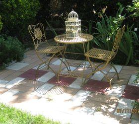 Caps And Bricks Do A Patio Make, Concrete Masonry, How To, Landscape,