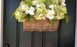 spruce up your front door for 1 , crafts, doors, flowers