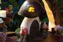 a magical fairy garden , crafts, gardening