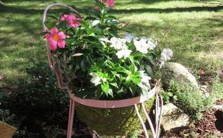 from thrift store to planter beauty within , flowers, gardening, how to, repurposing upcycling