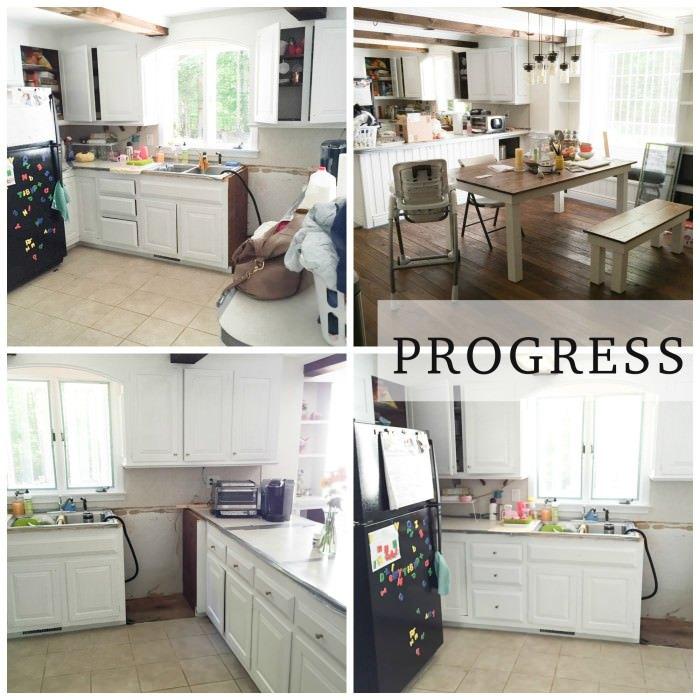 Rustic Farmhouse Kitchen Makeover