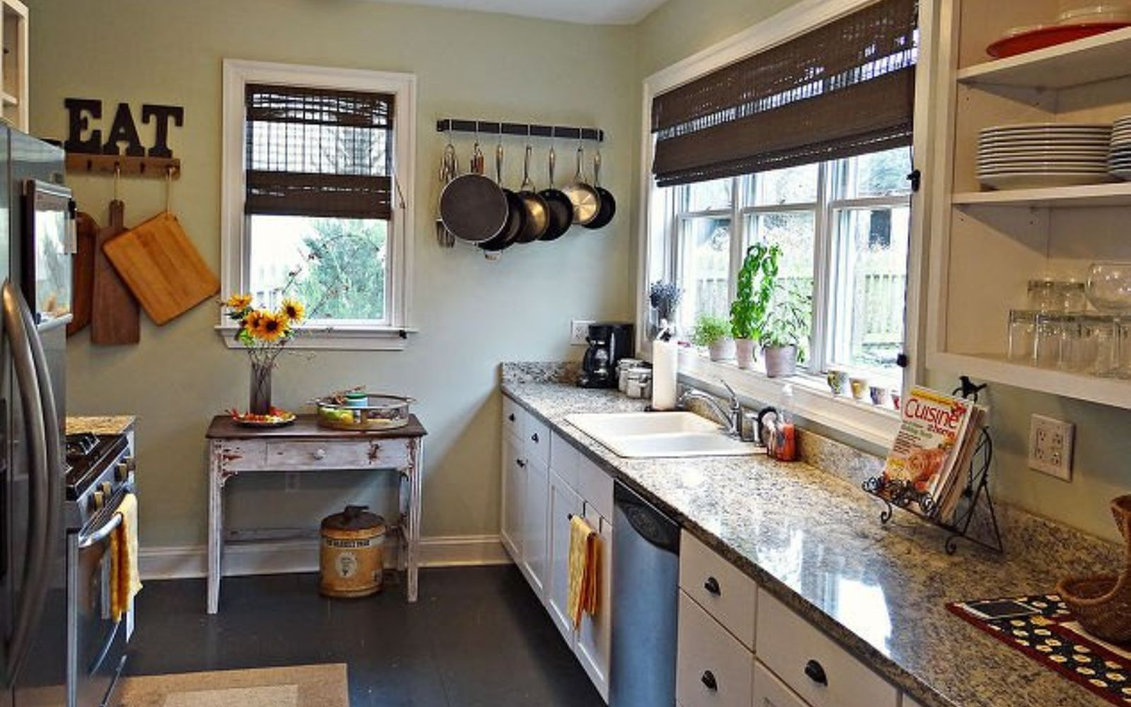 s 13 kitchen paint colors people are pinning like crazy, kitchen design, paint colors, Keep it fresh with a mint green