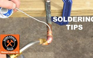 soldering quick tips, how to, plumbing, tools, Soldering Quick Tips