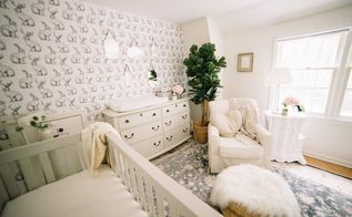 vintage folklore nursery, bedroom ideas, wall decor