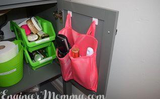 diy cabinet organizer, organizing, small bathroom ideas