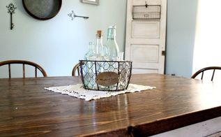 simple vintage farmhouse centerpiece, dining room ideas, home decor