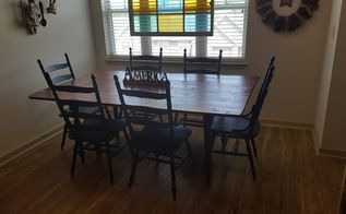 kitchen table made from recalimed pallet wood, pallet, repurposing upcycling, woodworking projects