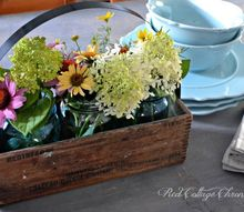 thrift store upcycle fixer upper style, container gardening, how to, mason jars, repurposing upcycling